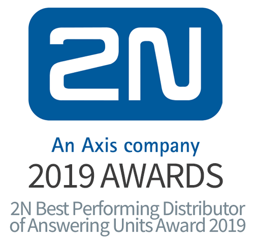 2N Best Performing Distributor of Answering Units Award 2019