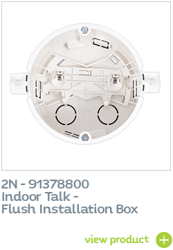 2N Indoor Talk installation box