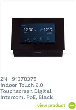 2N Indoor Touch 2.0 Black available at CIE Group