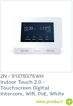 Indoor Touch 2.0 White with Wifi available from CIE Group