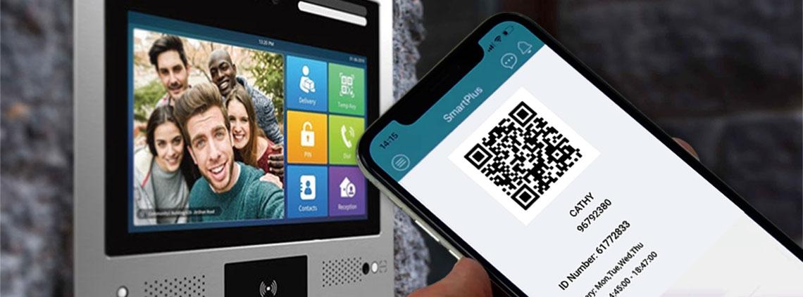 QR Code Access Control and Door Entry from a smartphone