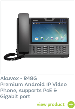 Akuvox IP Video phone available at CIE Group