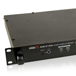 Inter-M AOE212N Audio-over-IP Transceiver
