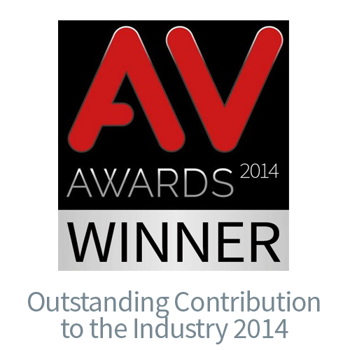 AV Awards 2014 Outstanding Contribution
