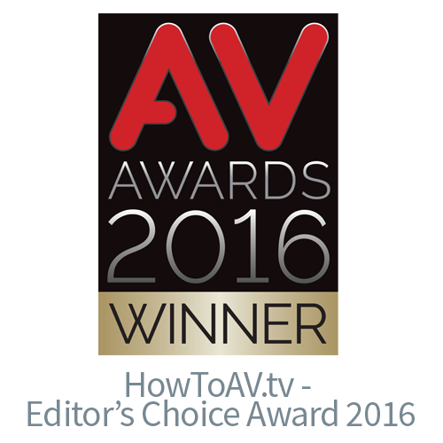 AV Awards 2016 Editor's Choice Award