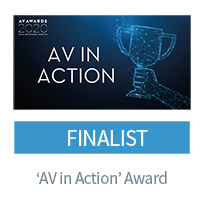 AV in Action Awards finalist - CIE for Ventillator Challenge UK