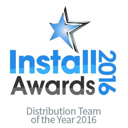 Install Awards 2016 Distribution Team of the Year - CIE AV Solutions