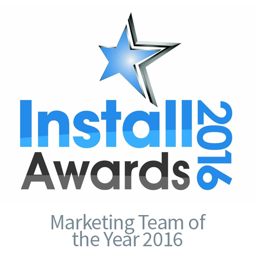 Install Awards 2016 Marketing Team of the Year - CIE AV Solutions