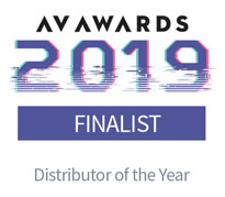 AV Awards 2019 - Distributor of the year finalist