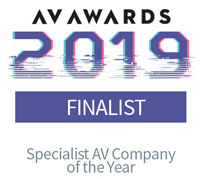 AV Awards specialist AV company of the year 2019