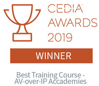 CEDIA Awards 2019 Winner - Best Training Course