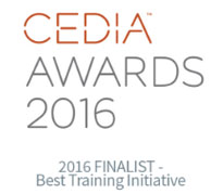 CEDIA Awards 2016 - Best Training Initiative