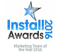 Install Awards 2016 Marketing Team of the Year - CIE
