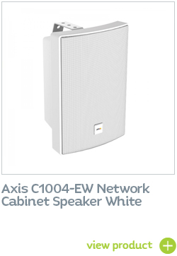 AXIS NETWORK CABINET SPEAKER WHITE
