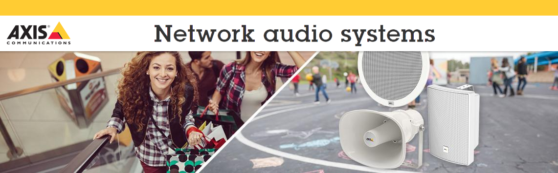 Axis Audio Systems - Available at CIE Group