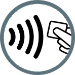 RFID authentication for access control icon