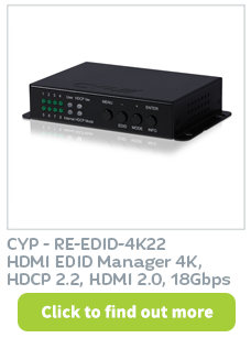 Purchase HDMI EDID Manager 4K from CIE Group