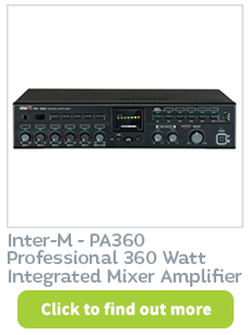 Buy telephone paging system related products like the InterM PA360 at CIE.