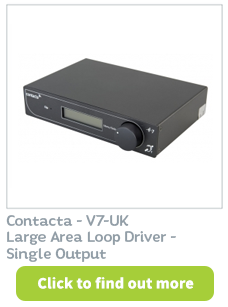 Contacta - V7-UK Large Area Loop Driver available CIE Group