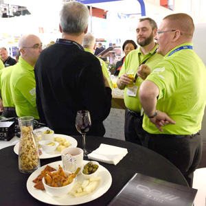 Join CIE and ISCE for lunch at ISE 2018