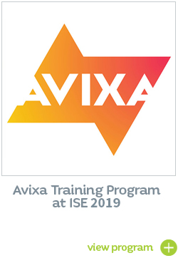 InfoComm Training Program ISE 2019