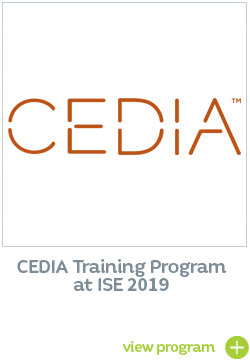 CEDIA Training Program ISE 2019