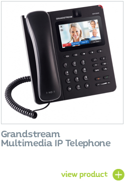 Grandstream IP Multimedia telephones integrate with 2N IP Intercoms