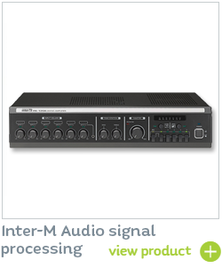 Inter-m Audio Signal Processing