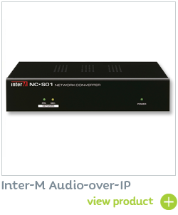 Inter-M Audio-over-IP