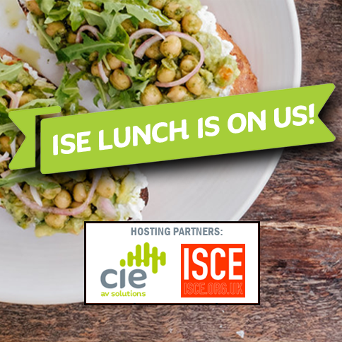Free lunch at ISE 2018 with CIE and ISCE
