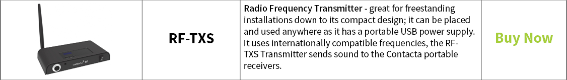 Contacta Radio Frequency Transmitter RF-TXS