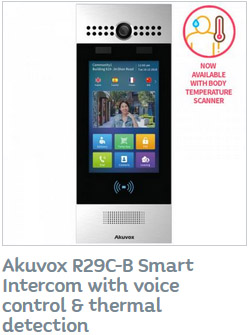 Akuvox Smart Intercom with Voice control