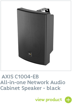 Axis Network Cabinet Speaker Black
