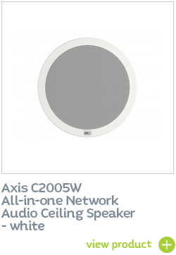Axis ceiling speaker - white