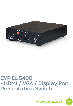 CYP EL-5400 HDMI / VGA / Display Port Presentation Switch