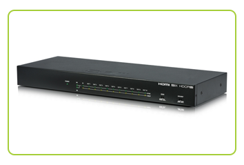 CYP - QU-10-4K22 1 to 10 HDMI Distribution Amplifier available at CIE