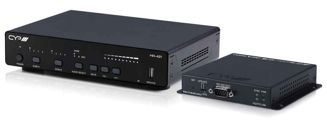 CYP MA-421 HDBaseT HDMI Matrix with Receiver