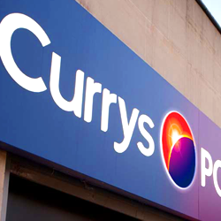 Currys PC WOrld feature sinteractive AV from CIE AV Solutions