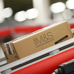 Marks & Spencer Online Distribution features Inter-M PA System