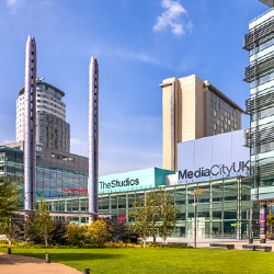 MediaCity Manchester uses 2N IP Audio and IP intercom systems