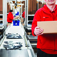 XPO Logistics Ted Baker site features 2N Audio-over-IP PA system