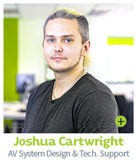 Joshua Cartwright CIE AV System Design and Support