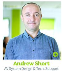 Andy Short - AV System Design, CIE Group