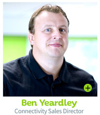 Ben Yeardley, Connectivity Sales Director - CIE Group