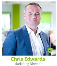 Chris Edwards Marketing Director, CIE Group