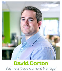 David Dorton, CIE Business Development Manager