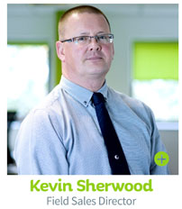 Kevin Sherwood, Field Sales Director - CIE Group