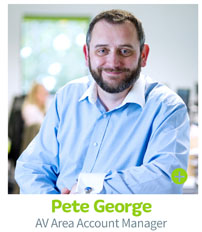 Pete George, CIE Group