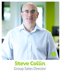 Steve Collin, Group Sales Director - CIE Group
