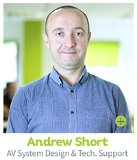 Andy Short - AV System Design, CIE AV Solutions